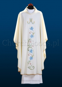 Marian chasuble 2114