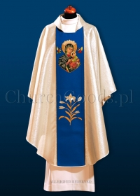 Marian chasuble 3051