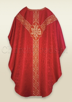 RED - SEMI-GOTHIC LOW MASS SET
