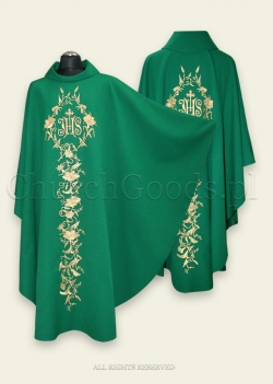 Green Gothic Chasuble