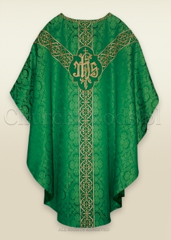 GREEN - SEMI-GOTHIC LOW MASS