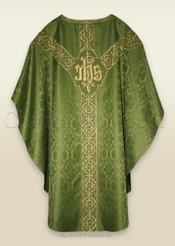 OLIVE GREEN - SEMI-GOTHIC LOW MASS SET