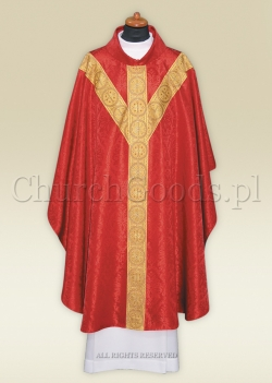 Chasuble in semi-gothic style 2312-R
