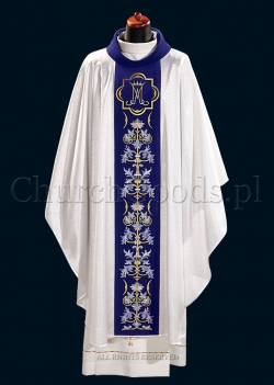 Marian chasuble 2094