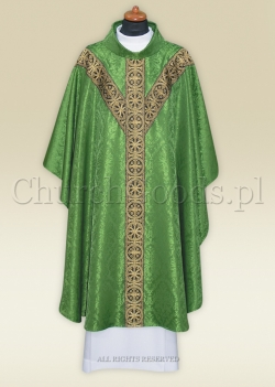 Chasuble in semi-gothic style 2312-G