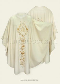 White Gothic Chasuble